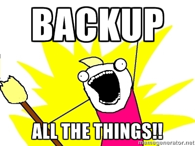 Backup All The Things